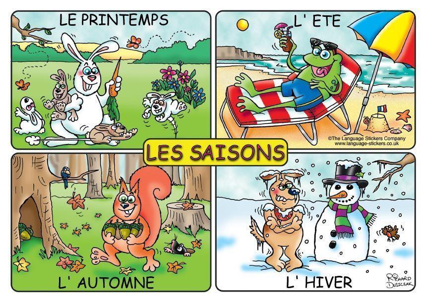Les saisons et leur fonctionnement - Saisons de l annee ...